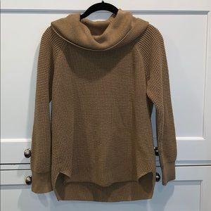 MICHAEL Michael Kors Camel Cowl Sweater